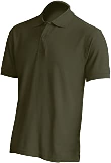 Mister Patch Polo Personalizzata con Ricamo del Numero o Iniziali 100% Cotone
