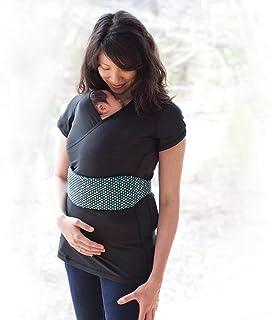 Nuroo Pocket Hands-Free, Skin-to-Skin Baby Carrier in Black, Large/X-Large