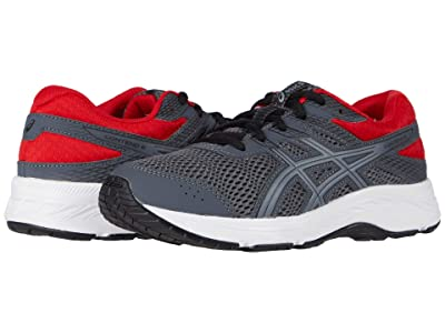 ASICS Kids GEL-Contend 6 (Little Kid/Big Kid) (Carrier Grey/Sheet Rock) Boy