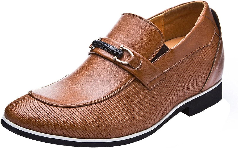 GTYMFH Mnner Leder Lssig Mode Geschft Schuhe