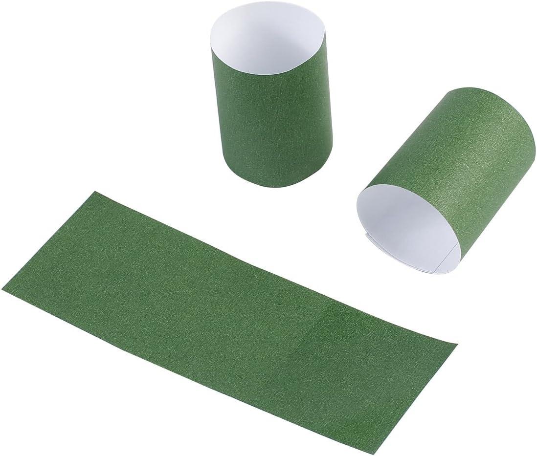 Paper Napkin Rings self Adhesive GM1051 Green Gmark Paper Napkin Band Box of 2500