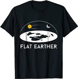 Flat Earther T-Shirt Flat Earth Theory Society Tee