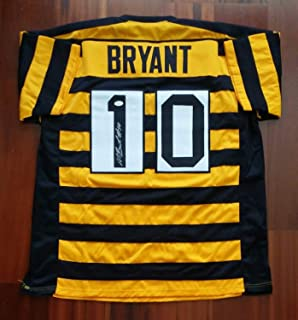 f78b6c0facf Martavis Bryant Autographed Signed Bumblebee Jersey Pittsburgh Steelers  Memorabilia JSA