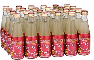 青森県りんごジュース スパークリングアップルマイルド 200ml×24本