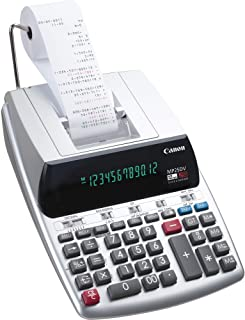Canon Office Products 2202C001 Canon MP25DV-3 Desktop Printing Calculator with Currency Conversion, Clock & Calendar,BLACK...