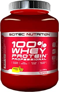 Scitec Nutrition - Post-Workout Recovery & Muscle Growth, 100% Whey Protein Powder Shake - Banana Flavour - 2350g
