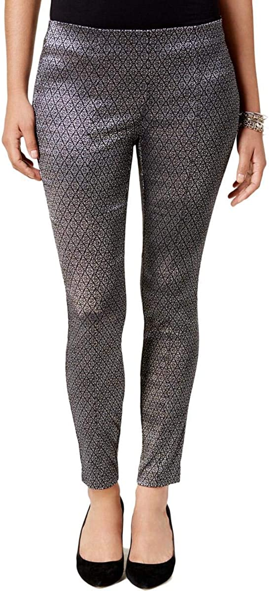 Alfani Glitter Skinny Pants