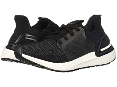 adidas Kids UltraBoost 19 (Big Kid) (Black/Grey) Boys Shoes