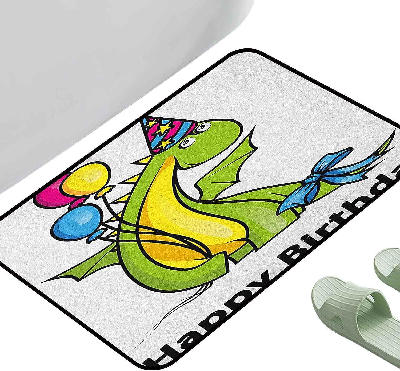 Bedroom Hallway Anti-Slip Superior Mat Kids Little Arlington Mall Baby Dinosaur Birthday