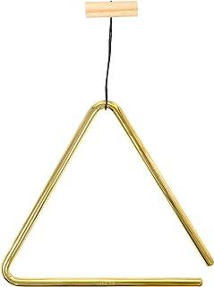 Meinl Percussion TRI20B - Triángulo de latón, 20.3 cm