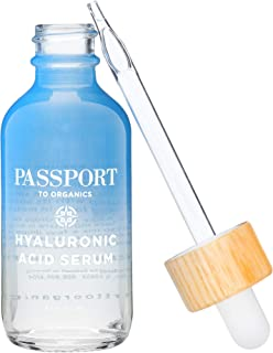 Hyaluronic Acid Serum - Organic and Vegan - 100 Percent Pure of a 1 Percent Solution 2 Ounce