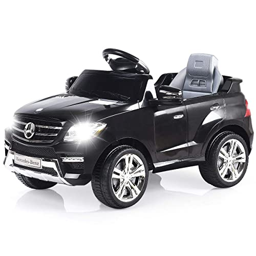 Costzon Ride On Car Licensed Mercedes Benz ML350 6V Electric Kids Vehicle 2WD Powered