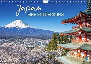 Japan: eine Entdeckung (Wandkalender 2021 DIN A4 quer): Traumhafte Kirschblüte, mythische Schreine und der Vulkan Fuji: fe...
