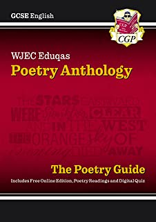 New GCSE English WJEC Eduqas Anthology Poetry Guide includes Online Edition, Audio and Quizzes