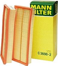 Mann-Filter C 3698-2 Air Filter (Set of 2)