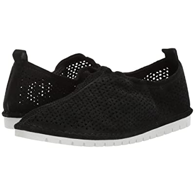 Kelsi Dagger Brooklyn Royce Sneaker (Black Cow Suede) Women
