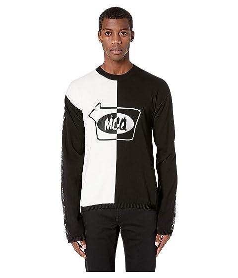 McQ Gas Stop Crew Neck Sweater