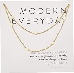 Modern Everyday, Wear Me Double Necklace