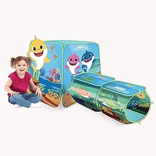 Playhut Pinkfong Baby Shark Explore 4 Fun Pop-Up Play Tent Preschool Gift for Kids - Amazon Exclusive