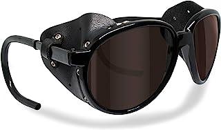 21d11ff4003 Bertoni Glacier Polarized Sunglasses for Mountain Hiking Trekking Ski mod  Cortina Italy Shiny Black