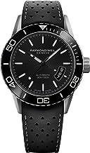 Raymond Weil Men's 2760-TR1-20001 Freelancer Analog Display Swiss Automatic Black Watch