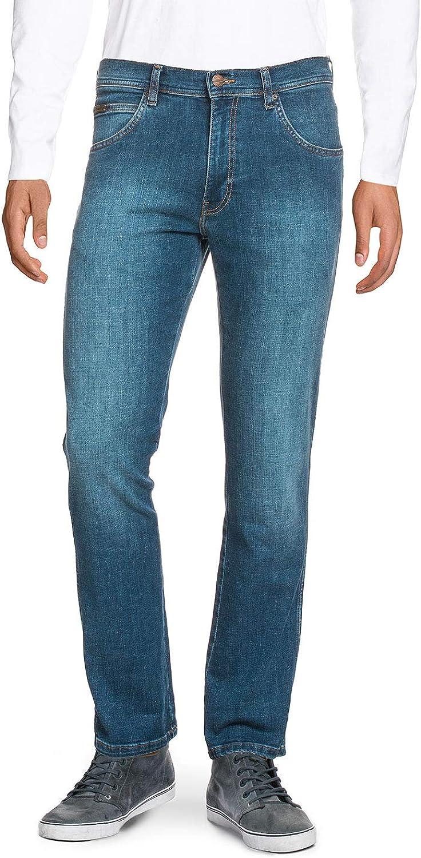Wrangler Herren Klassische 5-Pocket-Jeans Washed-Out-Effekten B07KKPVCHZ  Kostenlos