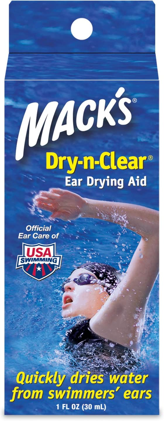 Mack's Dry-n-Clear Ranking integrated 1st place Ear Finally popular brand Drying Aid oz 1 3 Pack of