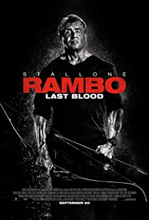 original rambo movie poster