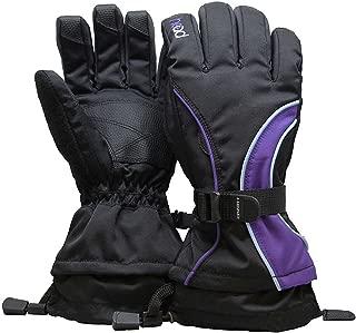Junior Ski Glove (M, Purple)