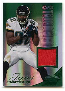 2012 Certified Mirror Emerald Materials Prime #220 Jimmy Smith Jaguars Jersey - Near Mint Condition Ships in New Holder