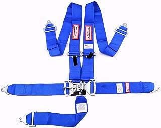 Racerdirect.net Blue Safety Harness SFI 16.1 5 Point Floor Mount 3