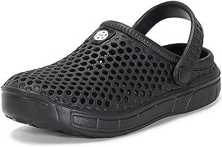Garden Clogs Kids Sandals Boys Summer Beach Mesh Slippers Girls Slip On Shoes Size