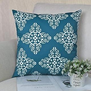 FYMIJJ Fundas de Cojines,Sofa Cushion Cover 40x40/45x45/50x50/60x60cm Throw Pillow Cover Decor Pillow Cases Thicken Waterproof Outdoor,21B,03,45x45cm