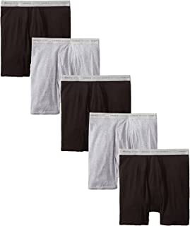 Men's 5-Pack Exposed Waistband Boxer Brief