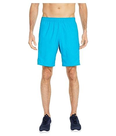 Nike NikeCourt Dry Shorts 9 (Neo Turquoise/Neo Turquoise/Neo Turquoise) Men
