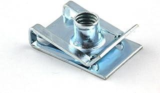 10x Blechmutter M5   Verkleidung Clip Schnappmutter für Motorrad Roller Muttern