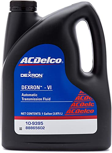 ACDelco GM Original Equipment 10-9395 Dexron VI Automatic Transmission Fluid - 1 gal