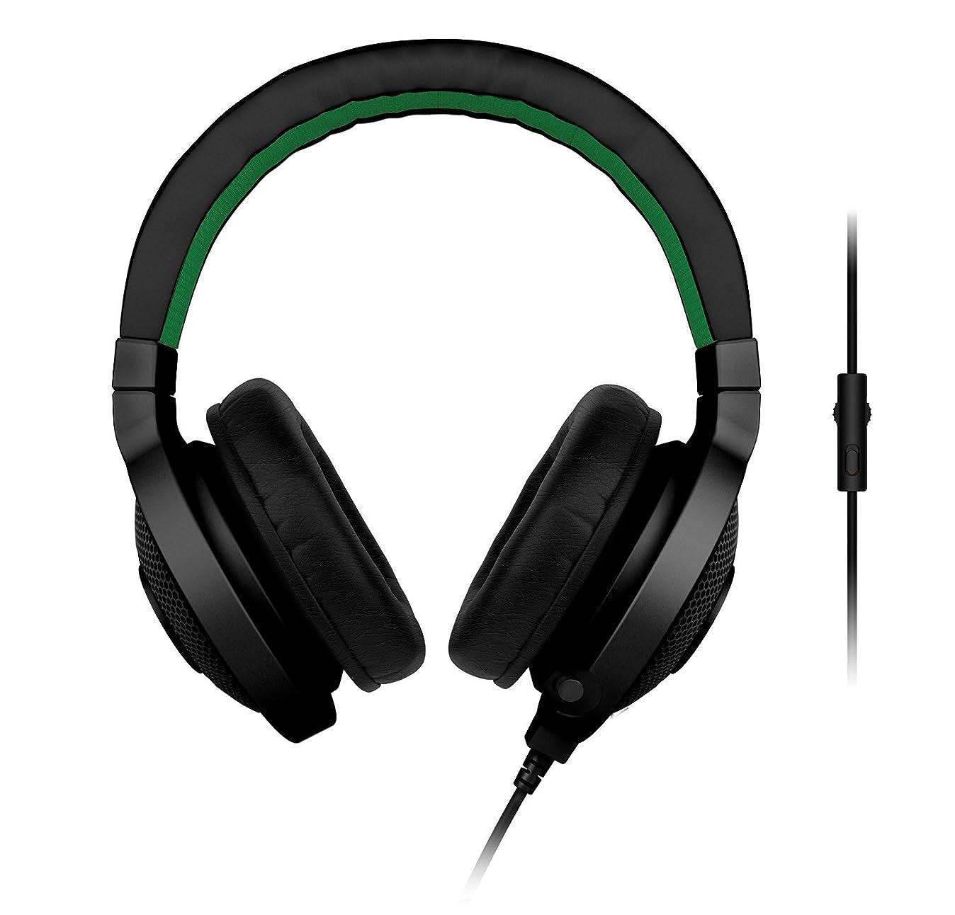 ブロー独裁者Razer Kraken Pro Analog Gaming Headset for PC, Xbox One and Playstation 4, Black [並行輸入品]
