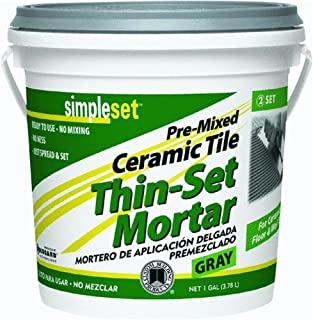 SimpleSet Pre-Mixed Thin-Set Mortar 1 QT