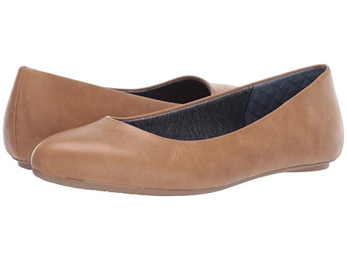 Dr. Scholls  Really (Nude Smooth) Womens Flat Shoes