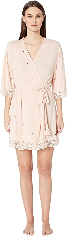 Dots - The Short Lace Robe