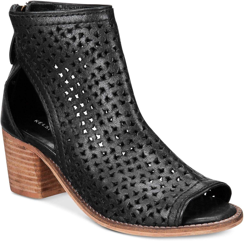 Kelsi Dagger Womens Gateway Vc Open Toe Ankle Fashion Boots