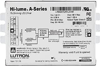 Lutron LTEA4U1UKN-JA100 Hi-Lume 1% Dimmable LED Driver, 46-Watt, 38-Vdc, 120V