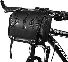 INBIKE Bike Front Frame Bag Waterproof Nylon Handlebar Commuter Shoulder Bag with Convenient Installation Holder for Bicycle