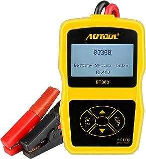 KOUPA Tester per Batteria per Auto Professionale analizzatore di precisione per Tester di carico Digitale automobilistico 12V Strumento di Test diagnostico della Durata della Batteria