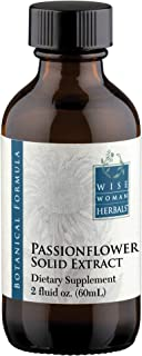Wise Woman Herbals – Passionflower Solid Extract – 2 oz – Natural Support of Simple Nervous Tension, Supports Deep and Restful Sleep, Promotes Mood Balance, Relaxation and Calming