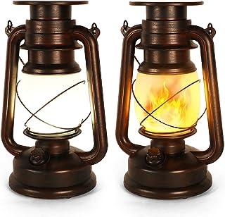Lanterne Solaire Exterieur, IP65 et Résistante Chaleur, Decoration pour Jardin Chambre Patio Deck Halloween Noël Fête Camping