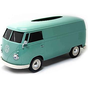 パドルビー(Puddleby) ティッシュケース グリーンII 1/16 フォルクス ワーゲンバス 1963 T1 266x113x119mm (pot付き) WT-9143PT-G