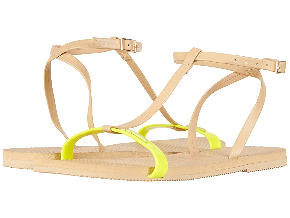Havaianas You Belize Flip Flops (Pollen Yellow) Women