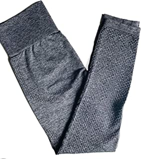 Women Yoga Pants Seamless Leggings Tummy Control Yoga Leggings High Waist Booty Leggings Sport Fitness Gym Leggings Athlet...